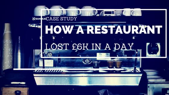 restaurant lost £6k